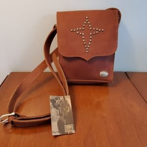 American West Vintage Crossbody Leather Bag